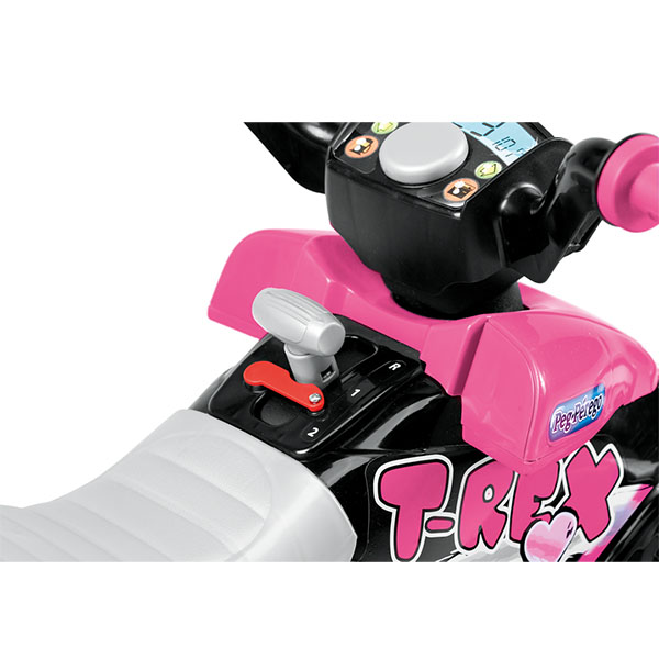 Детский электромобиль Peg-Perego OR0073 Corral T-Rex (розовый)
