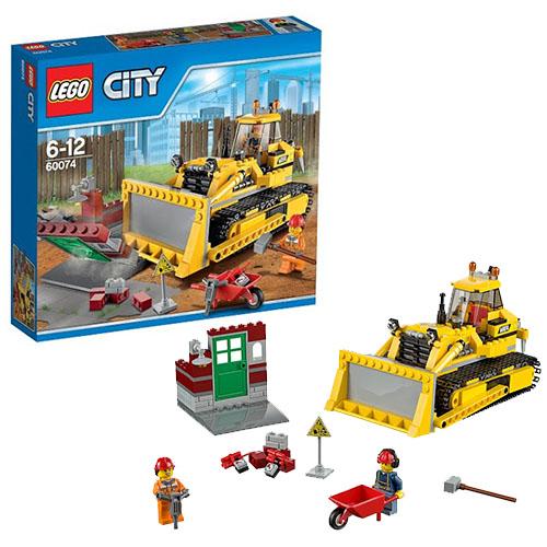 Lego City 60074 Конструктор Лего Город Бульдозер