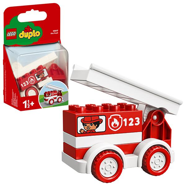 LEGO DUPLO 10917 Конструктор ЛЕГО ДУПЛО Пожарная машина lego duplo 10884 лего дупло мои первые цирковые животные