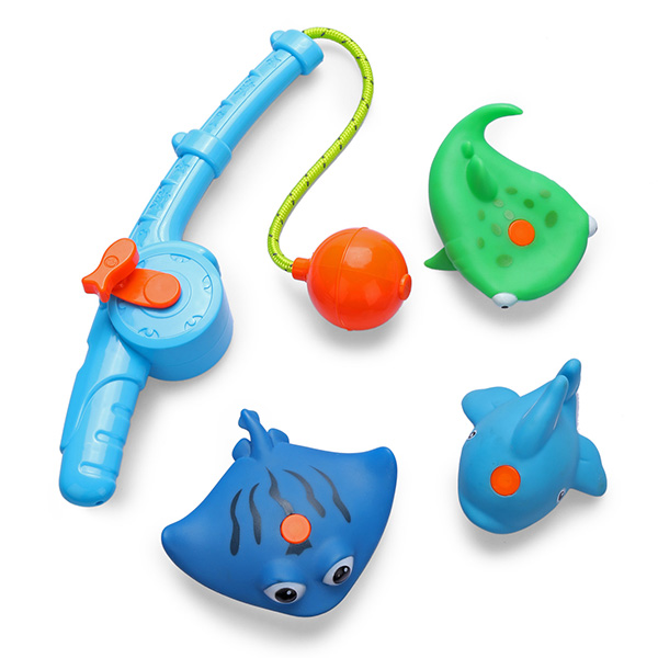 Happy Baby 32004 Набор игрушек для ванной FISHMAN