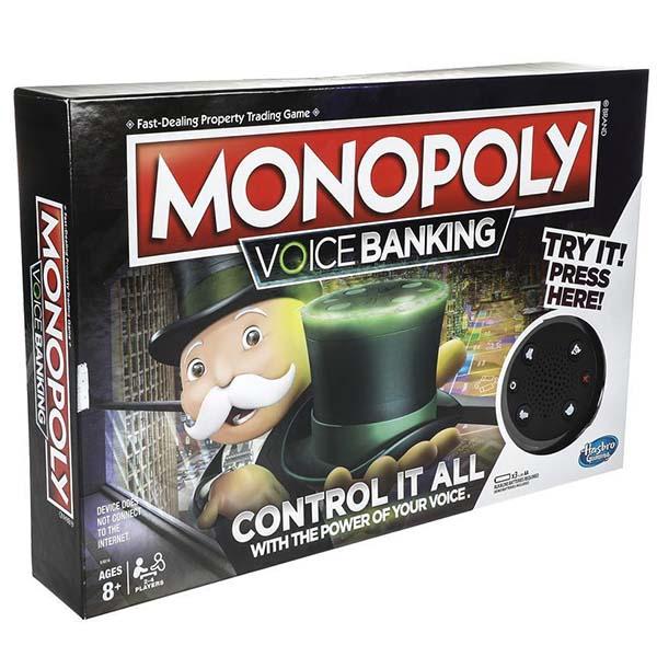 Hasbro Monopoly E4816 Настольная игра Монополия ГОЛОСОВОЕ УПРАВЛЕНИЕ