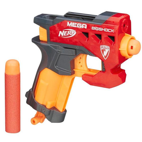 Hasbro Nerf A9314 Нерф Бластер Мега Большой выстрел оружие игрушечное hasbro nerf бластер зомби слингфайр