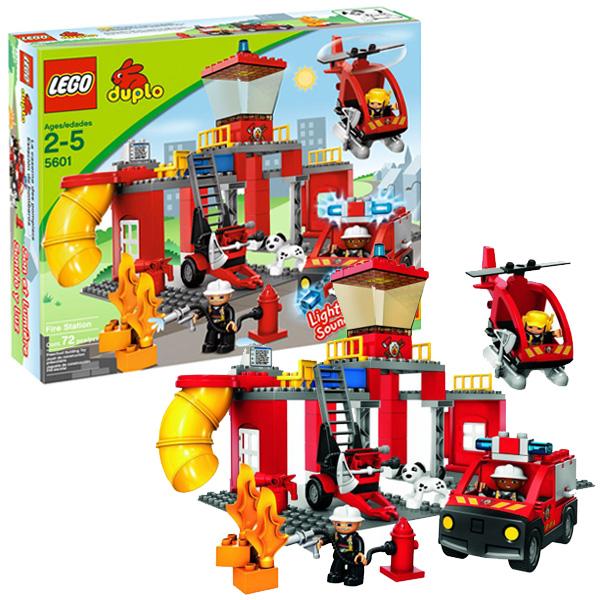 Лего Дупло 5601 Конструктор Пожарная станция