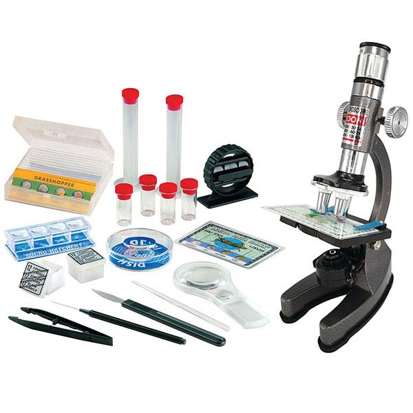 Edu Toys MS911 Набор микроскопа 100х1200 наборы для творчества edu toys набор слайдов для микроскопа pe062 page 5