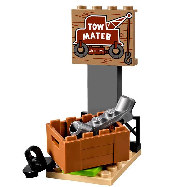 Lego Juniors 10733 Конструктор Лего Джуниорс Тачки Свалка Мэтра