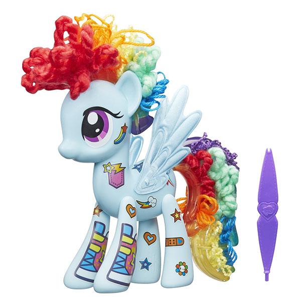 Hasbro My Little Pony B3593 Игровой набор Создай свою пони (в ассортименте) hasbro игровой набор главная улица play doh город
