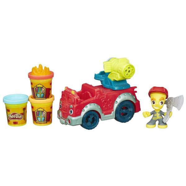 Hasbro Play-Doh B3416 Игровой набор Пожарная машина всё для лепки play doh игровой набор город магазинчик домашних питомцев