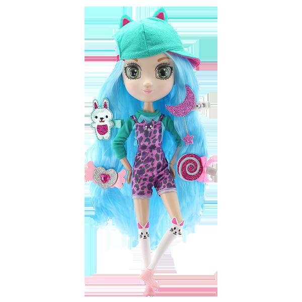 Shibajuku Girls HUN6621 Кукла Кое, 33 см кукла shibajuku girls кое 15 см