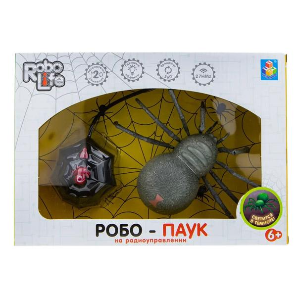 1toy T19035 RoboLife игрушка Робо-паук на Р/У