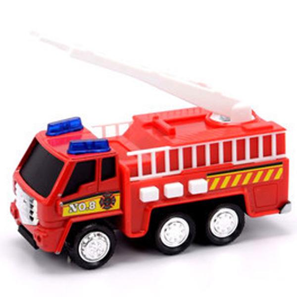 Фото - Soma 71320 Пожарная машина со световым и звуковым эффектом 12 см soma 78058 пожарная машина с лестницей 12 см