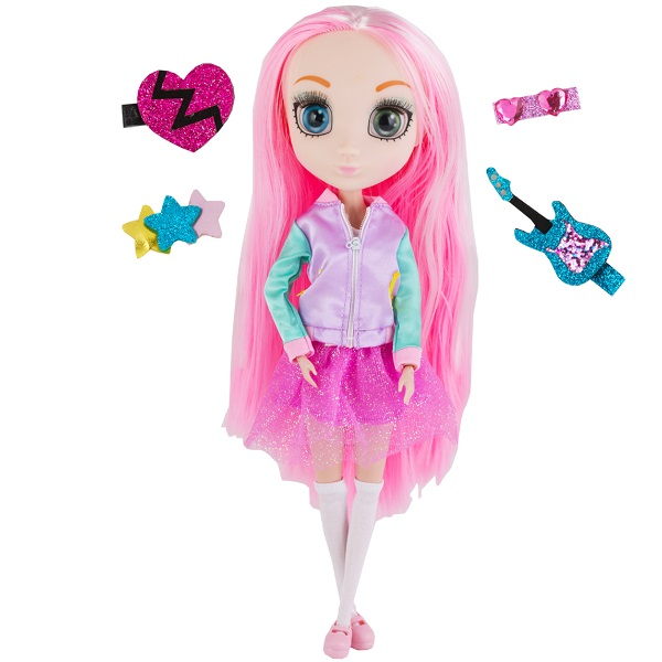 Shibajuku Girls HUN7707 Кукла Шидзуки 3, 33 см цена и фото