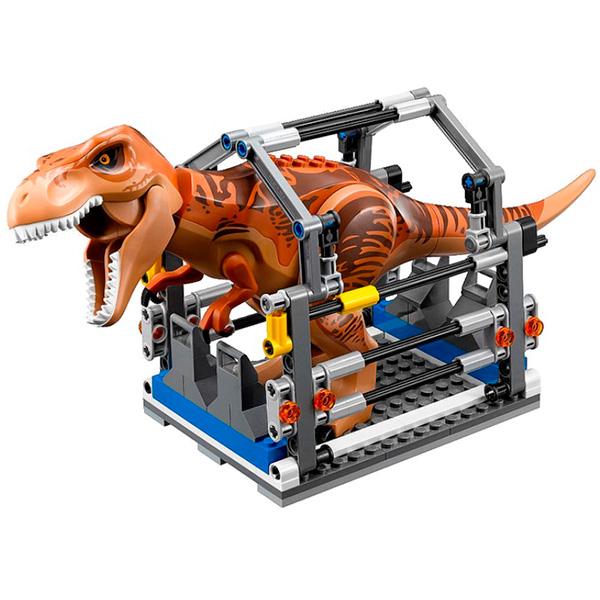 Lego Jurassic World 75918 Конструктор Лего Мир Юрского Периода Погоня за Ти-Рексом