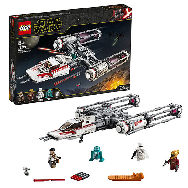LEGO Star Wars 75249 Конструктор ЛЕГО Звездные войны Звёздный истребитель Повстанцев типа Y конструктор lego star wars 75133 боевой набор повстанцев