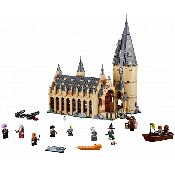 Lego Harry Potter 75954 Конструктор Лего Гарри Поттер Большой зал Хогвартса