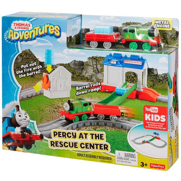 """Mattel Thomas & Friends FBC57 Томас и друзья Игровой набор """"Перси в спасательном центре"""""""
