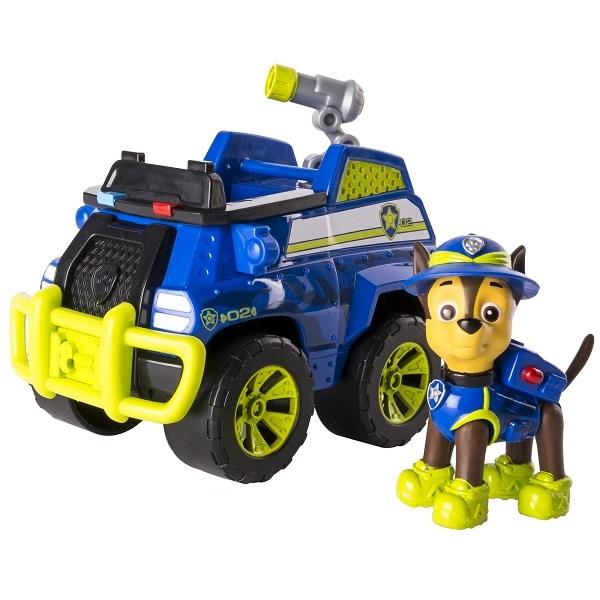 Paw Patrol 16702-Cha Щенячий патруль Машина спасателя со щенком Чейз