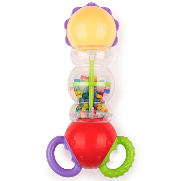 Happy Baby 330079 Развивающая игрушка RATCHET happy baby 330058 игрушка погремушка keys of fun