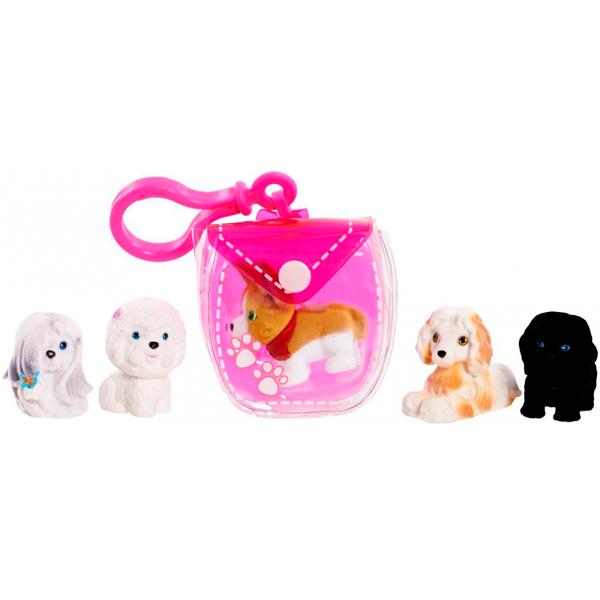 Puppy In My Pocket 48180-P Щенок в моем кармане Брелок-сумочка (розовая)