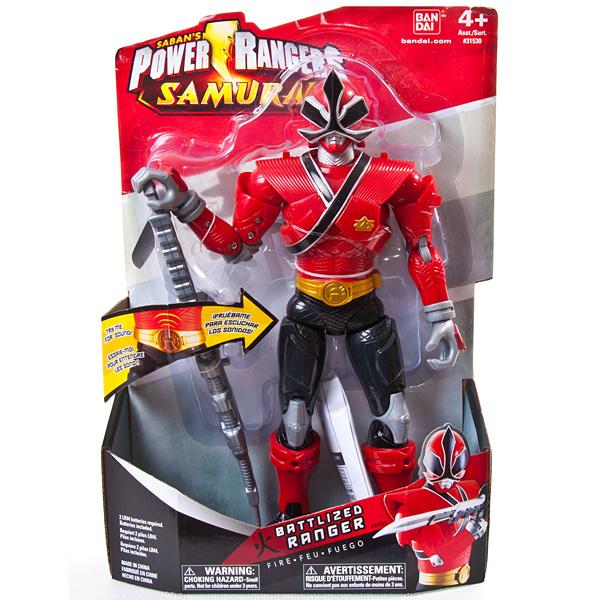 Power Rangers Samurai 31530 Пауэр Рейнджерс Фигурка 25 см со звуковыми эффектами