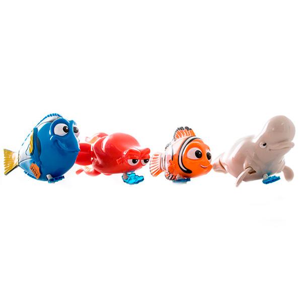 Finding Dory 36590 В поисках Дори Заводная рыбка для ванной 10-12 см (в ассортименте) finding dory 36530 в поисках дори плюшевый подводный обитатель с озвучиванием в ассортименте