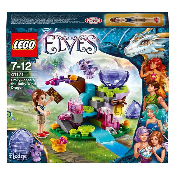 Lego Elves 41171 Конструктор Лего Эльфы Эмили Джонс и Дракончик ветра