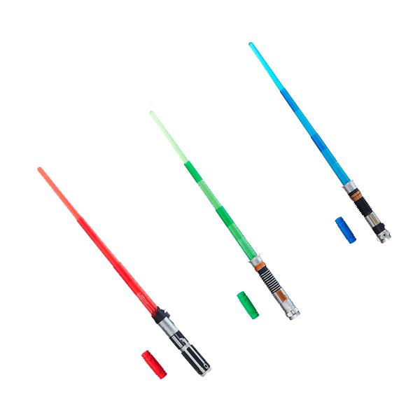 Hasbro Star Wars B2919N Звездные Войны Электронный лазерный меч + фигурка