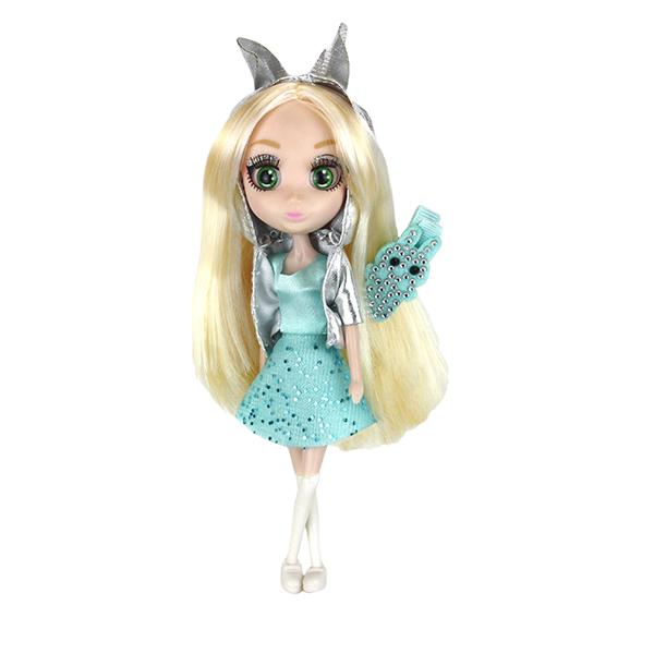 Shibajuku Girls HUN6673 Кукла Кое, 15 см кукла shibajuku girls кое 15 см