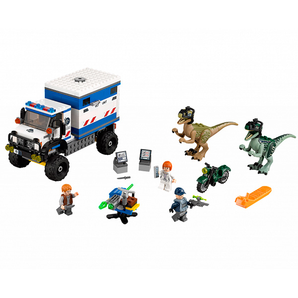 Lego Jurassic World 75917 Конструктор Лего Мир Юрского Периода Ярость динозавра