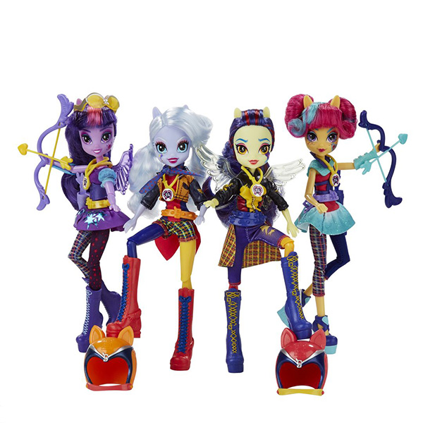 Hasbro My Little Pony B1772_9 Май Литл Пони Equestria Girls кукла спорт Темномолнии (в ассортименте)