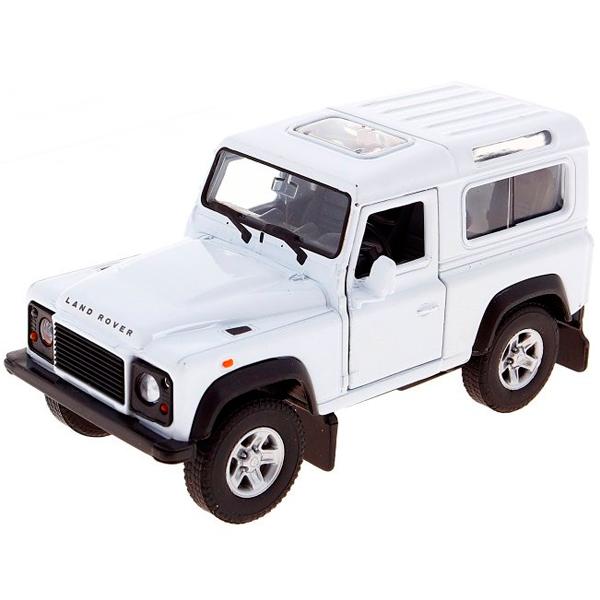 Welly 42392 Велли Модель машины 1:34-39 Land Rover Defender bruder внедорожник land rover defender