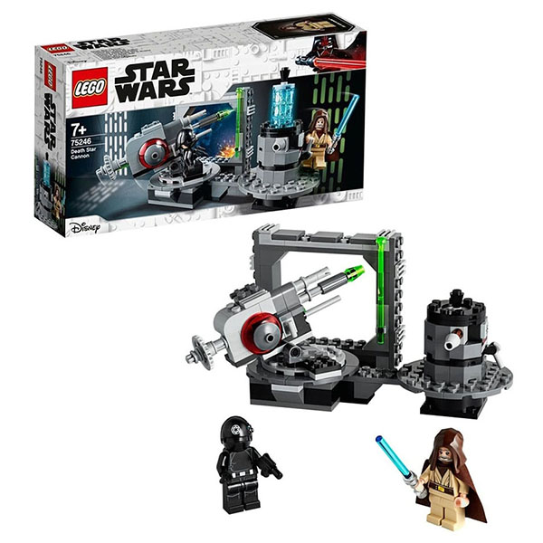 LEGO Star Wars 75246 Конструктор ЛЕГО Звездные войны Пушка Звезды смерти цена и фото