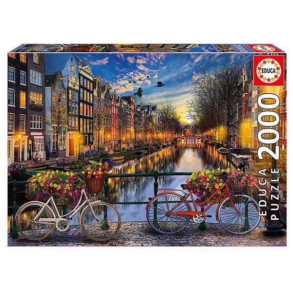 "Educa 17127 Пазл 2000 деталей ""Амстердам"""