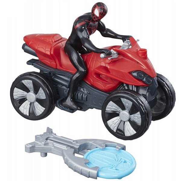 Hasbro Spider-Man B9705/B9995 Кид Арахнид на квадроцикле hasbro spider man e0808 e1104 кид арахнид с аксессуарами