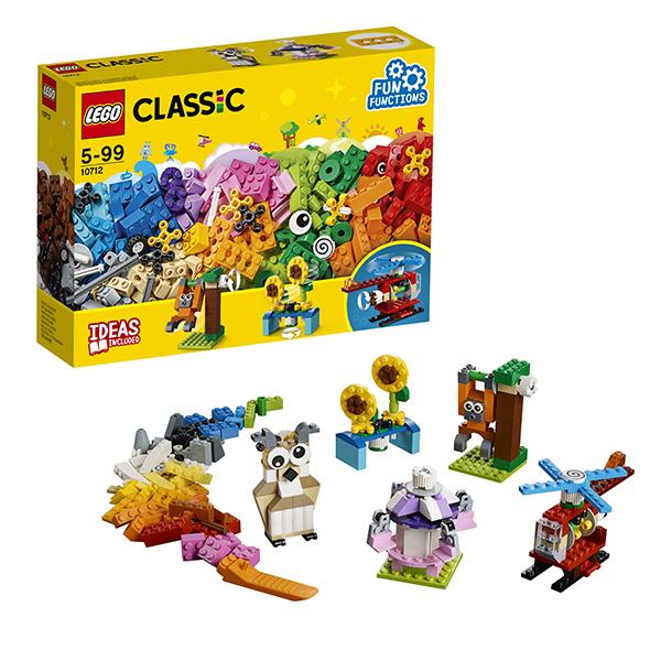 Lego Classic 10712 Конструктор Лего Классик Кубики и механизмы 2000708 lego education набор с запасными частями машины и механизмы 1