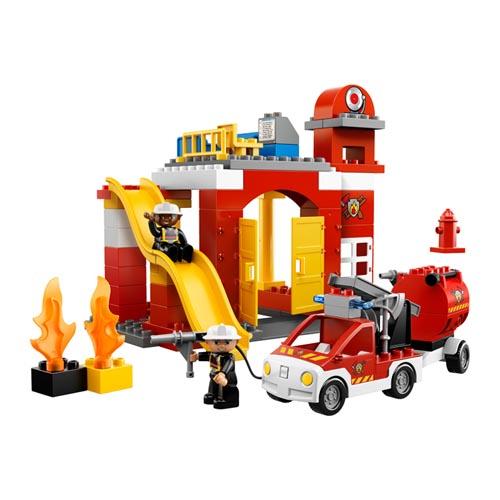 Конструктор Lego Duplo  6168 Лего Дупло Пожарная станция