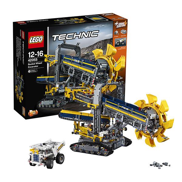 Лего Техник 42055 Конструктор Роторный экскаватор