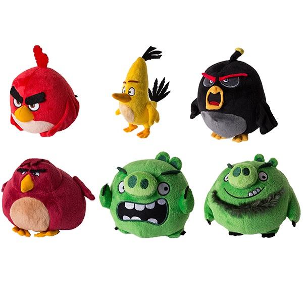 Angry Birds 90513 Энгри Бердс Плюшевая птичка 13 см (в ассортименте) spin master коллекционная фигурка сердитая птичка angry birds 90501 40073074