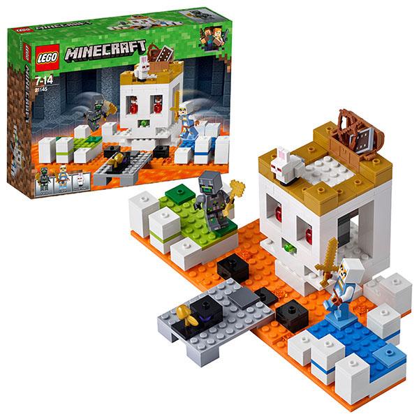 цена на LEGO Minecraft 21145 Конструктор ЛЕГО Майнкрафт Арена-Череп