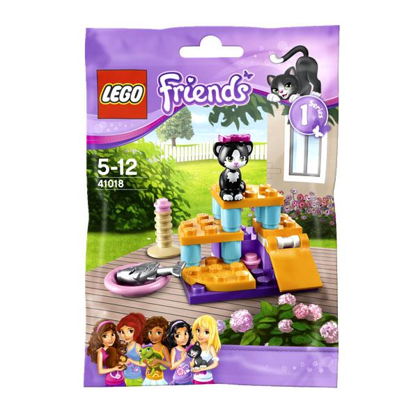 Lego Friends 41018 Конструктор Кошка на прогулке