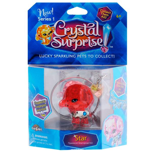 Crystal Surprise 45712 Кристал Сюрприз Фигурка Слоник + браслет и подвески