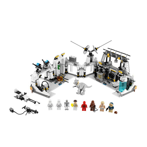 Lego Star Wars 7879 Конструктор Лего Звездные войны База Эхо на планете Хот