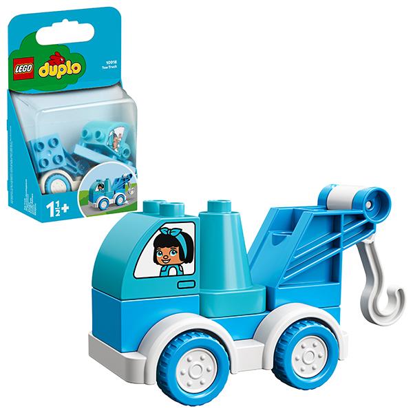 LEGO DUPLO 10918 Конструктор ЛЕГО ДУПЛО Буксировщик lego duplo 10837 новый год lego