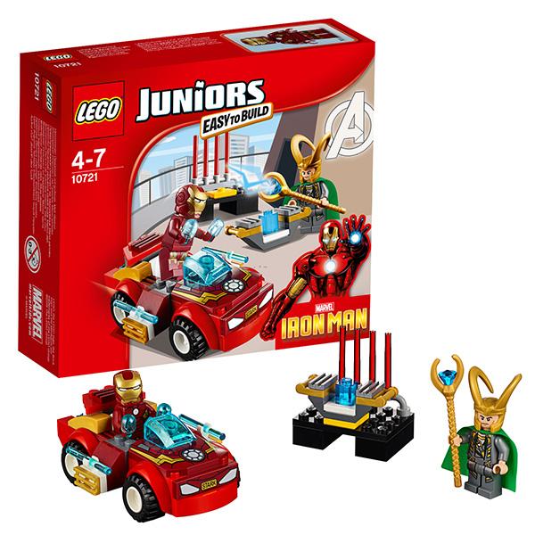 Lego Juniors 10721 Лего Джуниорс Железный человек против Локи