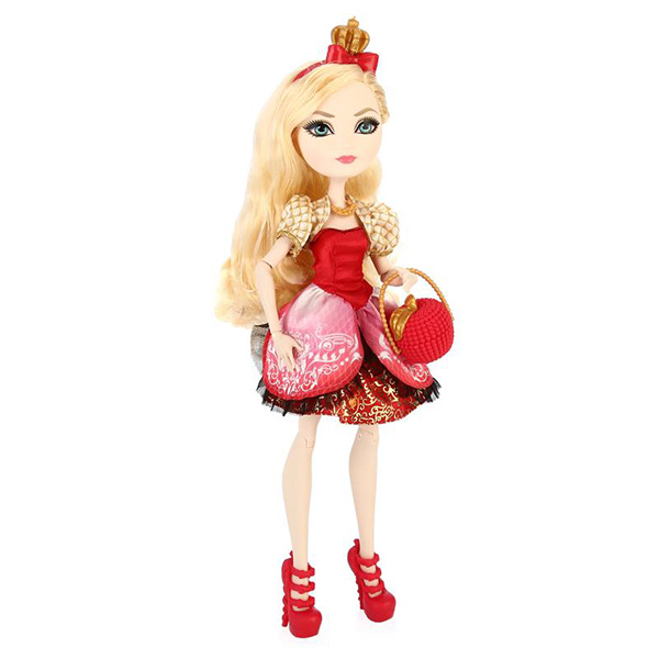 Mattel Ever After High BBD52 Эппл Уайт mattel ever after high dvh81 куклы лучницы банни бланк