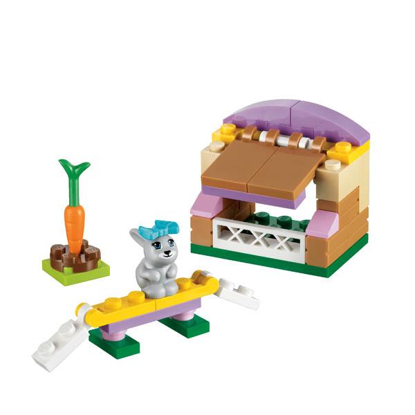 Лего Подружки 41022 Конструктор Домик кролика