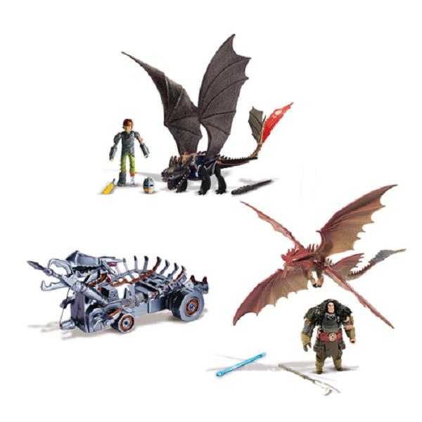 Игровой набор Dragons 66587 Как приручить дракона Битва на Драконовой горе