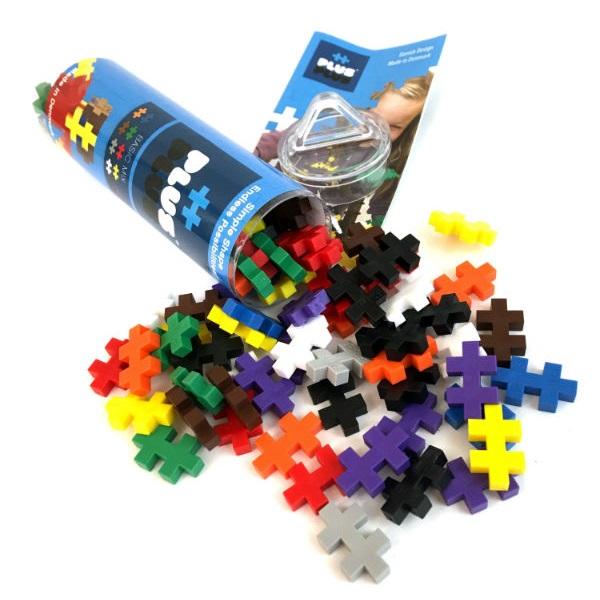 Plus Plus 4023 Разноцветный конструктор для создания 3D моделей (базовый набор) цена