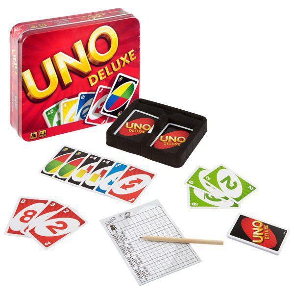 Uno K0888 Уно Делюкс mattel карточная игра уно monster high mattel games