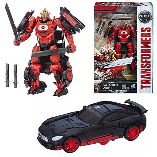 Hasbro Transformers C0887/C2400 Трансформеры 5: Делюкс Автобот Дрифт роботы transformers трансформеры 5 делюкс автобот сквикс