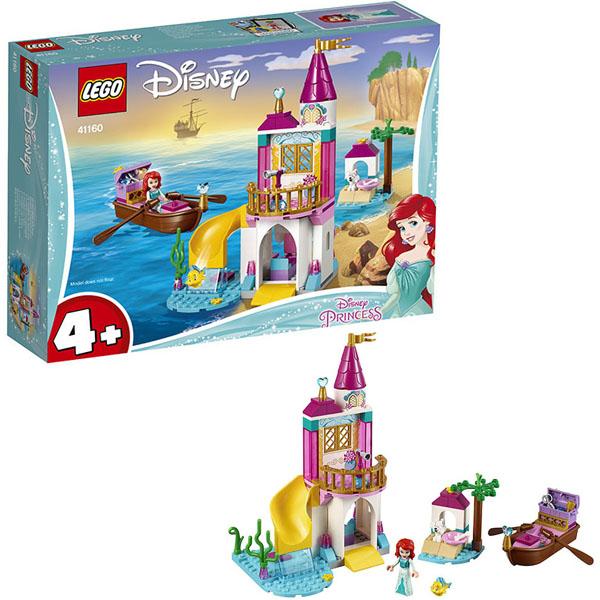 цены на LEGO Disney Princess 41160 Конструктор ЛЕГО Принцессы Дисней Морской замок Ариэль  в интернет-магазинах